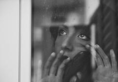 Another day (Teresa Manna) Tags: winter portrait window face vintage photo model eyes women mood retro romantic patos