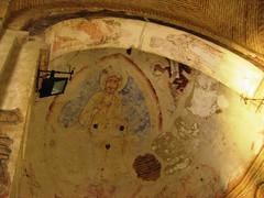 Christ Pantocrator - Cristo de La Luz. Toledo. (ajhammu0) Tags: christ mosque toledo romanesque fresco wallpainting cristodelaluz visigothic pantocrator musejar