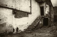 Intimidad en Sepia   ///   Sepia Intimacy (Walimai.photo) Tags: sepia stairs de los nikon san village rustic pueblo gallegos escaleras intimacy 18105 felices intimidad rstico d7000