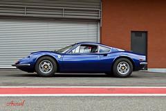 246 (AureilFerrari) Tags: auto blue car canon eos automobile auto