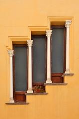 Stepped Window (albireo 2006) Tags: italy window architecture three italia steps diagonal finestra sicily sicilia stepped trapani