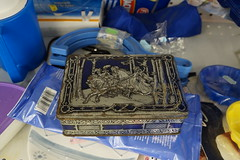 they are still lost in the tale (William Keckler) Tags: lost box medieval ephemera tale fable metalbox