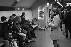 Metro (serbetci06) Tags: city people bw white black paris art love landscape nice perfect minolta metro sony like tamron slt bigcity nofilter a58 naturel dsrl