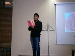 Setmana de la Poseia 2014 (Institut Joan Coromines bcn) Tags: sala poesia lectura batx activitats 2014 batxillerat actes 2n