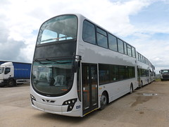 Volvo B9TL / Wright Gemini @ Volvo Bus & Truck Peterborough (markkirk85) Tags: b 2 3 bus buses volvo wright peterborough gemini b5lh