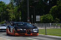 WRE. (William Coubard) Tags: world orange black france sport ss super william mans le record limited edition bugatti supercar lemans 24hours veyron supersport 24h wre hypercar coubard