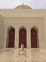 Grand Mosque Muscat (katreenatravels) Tags: architecture religion mosque oman muscat