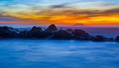 Winter Sunset (mduckitt) Tags: ocean longexposure sunset seascape west nature landscape southafrica coast rocks waves dramatic goldenhour westerncape yzerfontein