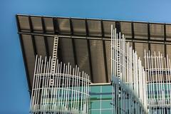 Wendell Wyatt Federal Building (Karl D Scheller) Tags: blue sky green portland leed indigo pdx architects sera 70200mm curtainwall canonef70200mmf28lisii wendellwyattfederalbuilding