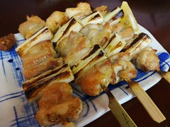 Yakitori @Hitokushi-Nyukon, Obama Plaza, Shanghai (Phreddie) Tags: china plaza food chicken dinner japanese restaurant yum shanghai eat yakitori obama 140623