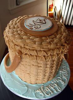 Nantucket Basket Cake med