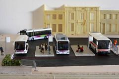 Terminal Rodovirio - Azinheira (GelbenOmnibusse) Tags: bus mercedes busse 187 autocarro modelismo preiser citaro h0 modelbus evobus rietze