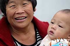 Qibao Town Grandma (Robert Borden) Tags: asia china shanghai qibao town canaltown grandma portrait people canon