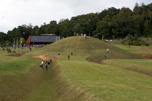 "Ground Shot of ""The World of the Celts at the Glauberg (Keltenwelt am Glauberg)"""