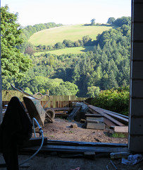 Doward King Arthur's Cave Symonds Yat Herefordshire view from house under construction (David John Hale) Tags: doward king arthurs cave symonds yat herefordshire