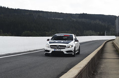 Mine or yours? (Nick Carphotography) Tags: mercedesbenz amg spafrancorchamps spa nikon d5100 a45
