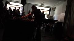 merzbow, cafe oto afternoon performance... (scott.simpson99) Tags: merzbow noise harsh experimental gig musician japan london