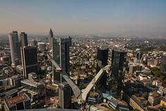 2016 Westend - Blick vom Maintower in Frankfurt (mercatormovens) Tags: hochhuser wolkenkratzer westend deutschebank innenstadt bankenviertel maintower aussichtsplattform frankfurt