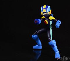4INCHNEL - Rockman.EXE (SwedishRobotFish) Tags: sentinel 4inchnel megaman rockman rockmanexe action figure