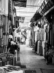Dans le souk (Qiou87) Tags: blackwhite blackandwhite souk marrakech marrakesh morocco maroc hanging