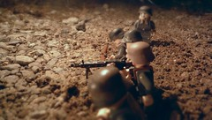 Dirt And Rubble (21st Century Brick) Tags: lego night war wwii ww2