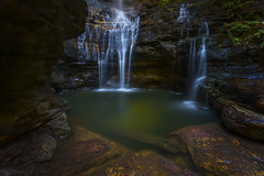 Memories of Green (Crouchy69) Tags: landscape waterfall waterfalls water fall flow motion long exposure empress falls wentworth blue mountains sydney australia
