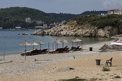 End of Summer beach