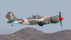 Yakovlev Yak-50 N550YK (ChrisK48) Tags: 1981 airplane n550yk phoenixdeervalleyairport kdvt dvt phoenixaz aircraft skorost yakovlevyak50