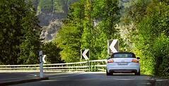 On the way to the Bridge GOMS, Switzerland (oksana_korda) Tags: switzerland nature landscape beautifulplace mountains car audi tts auditts