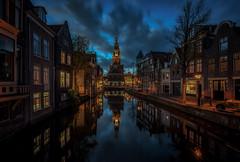 Cheese museum, Alkmaar (urbanexpl0rer) Tags: alkmaar kaasmuseum noordholland nederland holland architecture night bluehour longexposure