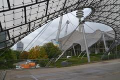 Shapes, Shapes, Shapes.... (pringle-guy) Tags: nikon          architecture sport soccer football bayern bayernmunich olympic olympicstadium olympicpark munich munchen germany deautschland