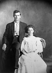 George M Klinefelter and Agnes E Marvin wedding