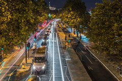 20160709-IMG_1329-HDR.jpg (mrlaugh) Tags: theembankment night cyclesuperhighway england cycletrack 2016 longexposure london travel transportation unitedkingdom signal vacation trafficcontrol europe uk lighttrail gb