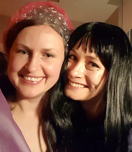 Bubble fairy meets Lydia. . .celebrating Halloween and years of amazing friendship. ❤