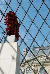 Pyramid at Louvre Paris (monicavallan) Tags: france parigi world skyline skyscrapers bestview amazingview bestdestination beautifulplace placestovisit bestplaces landscape monuments globetrotter traveling travel louvre paris