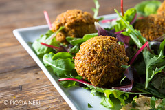 Falafels (PicciaNeri) Tags: middleeast chef chickpeas condiment coriander cuisine delicacy delicatessen dish eat eaves falafel food fresh freshness fried gourmet greens healthy herb hoummus hummus ingredient lettuce middleeastern natural nutrition oil olives organic oriental salad scent seasoning snack spice spicy vegan vegetarian