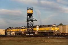 Good Morning, Clewiston (Rudy - rufec12) Tags: unitedstatessugarcorporation ussc train trains railfan railfanning clewiston florida fl nikon gp11 emd 501 408 303 311 sand