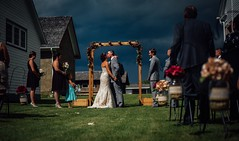 Just Married (typray) Tags: tone light kiss love d810 nikon summer woman man people wedding