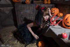 DSC_7416 (Robin Huang 35) Tags:  candy miruna   vampire  halloween  lady girl d810 nikon devil