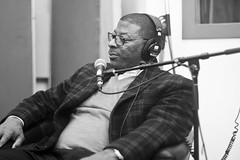 Another fine example of Black Privilege (Brotha Kristufar) Tags: podcast interview media host personality giants team sports football kapernick carlbanks legend superbowl nygiants ny nyc newyorkcity queens education entrpreneur money business monochrome blackandwhite portrait show portraiture studio gentleman explore explored feature culture canon indoor indoors people fame famous discussion talk