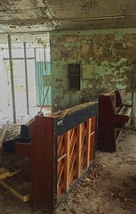 Pripyat Piano Shop-(Chernobyl Exclusion Zone)_17 (Landie_Man) Tags: none pripyat chernobyl looted looting disused closed music piano pianist culture bars beats frets instrument grand fine radioactive radiation ionising shop store shut buy bought purchased forgotten play nuclear power plant the zone ukraine ussr cccp ccpp soviet union