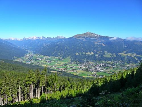 Aineck, Blick auf St. Michael, Katschberg 2016-203