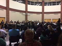 Great job tonight by the Valley Southwoods Band on their first concert of the year.