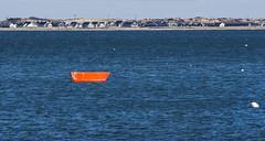 Red Boat (PAJ880) Tags: red boat provincetown ma cape cod bay shoreline sea