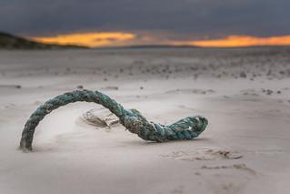 Seil am Strand