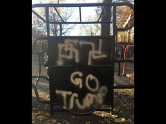 Please help get this out. (doneastwest) Tags: swastika racism fascism altright