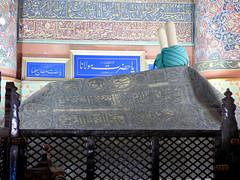 Konya - Mevlana Turbesi, shrine interior, Rumi's tomb (2) (damiandude) Tags: rumi dervish sufi