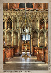 Southwell Minster Cathedral (setsuyostar) Tags: southwellminstercathedral churches cathedrals canoneos5dii autumn2016 october2016 kenhawley hdr churchinteriors