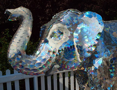 2016_09_1039 (petermit2) Tags: nellylookingthroughthelookingglass andrewvickers stonefacecreative stoneface ourcowmollyfarm ourcowmolly farm herdofsheffield elephant childrenshospitalcharity childrenscharity charity sheffield southyorkshire
