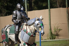IMG_4746 (joyannmadd) Tags: horse rider joust spar duel warhorse hammoind louisiana armour outdoor game war combat midevil larenfest
